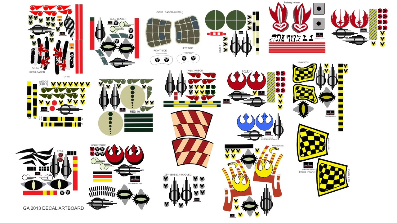 X_wing_Complete_Set